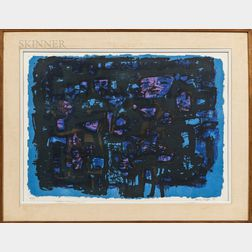 Henry Cliffe (British, 1919-1983)      Abstract.