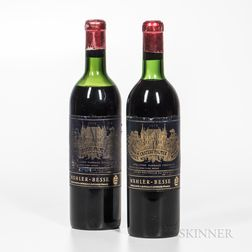 Chateau Palmer 1959, 2 bottles