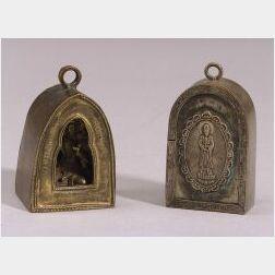 Two Miniature Shrines