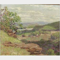 Leo B. Blake (American, 1887-1976)  Sunlit Valley