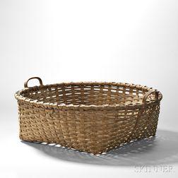 Shaker Black Ash Cheese Basket