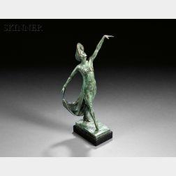 Malvina Cornell Hoffman (American, 1887-1966)      La Gavotte / A Figure of Anna Pavlova