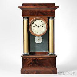 Luman Watson Portico Shelf Clock