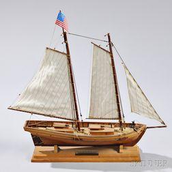 Small Model of the Virginia Pilot Boat Swift