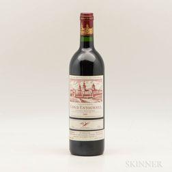 Chateau Cos dEstournel 1989, 1 bottle