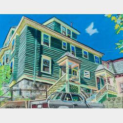 Wade Zahares (American, 20th/21st Century)      Green House
