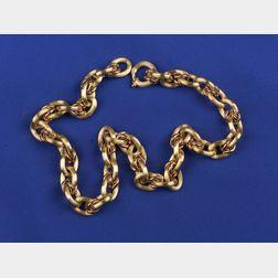 Bi-Color 18kt Gold Chain
