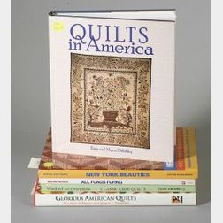 Lot of Five Quilt Related Books