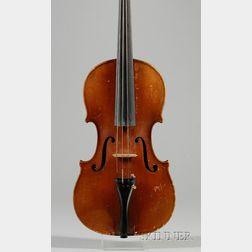 Mittenwald Violin, Gustave August Ficher, Mittenwald, 1953