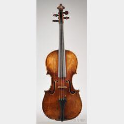 Violin c. 1840, Ascribed to Joseph Dall'Aglio