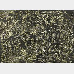 Leonard Baskin (American, 1922-2000)      Thistle Ornament