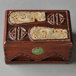 Jade and Rosewood Box