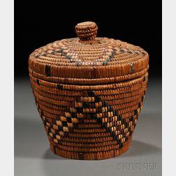 Salish Imbricated Basket