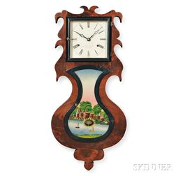 Smith and Goodrich Wall Acorn Clock