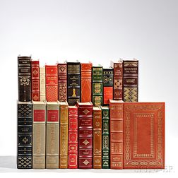Franklin Library Leather-bound Books, Including Eight Signed Copies, Twenty Volumes.