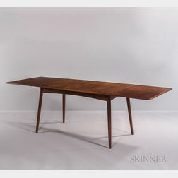 Hans J. Wegner for Andreas Tuck Drop-leaf Dining Table