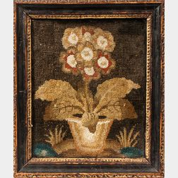 Needlepoint Picture of a Flower