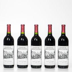 Chateau Montelena Cabernet Sauvignon Estate 1989, 5 bottles