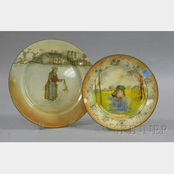 Two Royal Doulton Plates