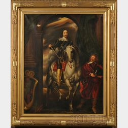 American School, 19th/20th Century      After Sir Anthony van Dyke (Flemish, 1599-1641), Charles I with M. de St Antoine