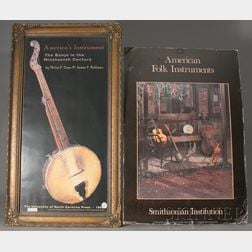 Two Posters of American Folk Instruments