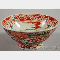 Swatow Ceramic Bowl