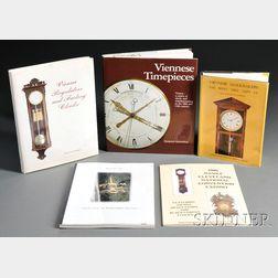 Four Titles on European Clocks