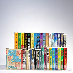 Parker, Robert B. (1932-2010) Spenser Series, First Editions, Signed Copies, Thirty-eight Volumes.