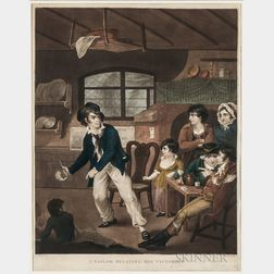 Nautical Subjects, Two British Prints.