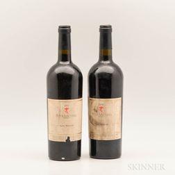 Peter Michael Les Pavots 1995, 2 bottles