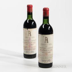 Chateau Latour 1959, 2 bottles