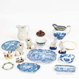 Group of English Ceramic Tableware