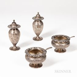 Tuttle Sterling Silver Salts and Casters