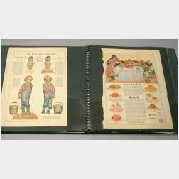 Portfolio of Rose O'Neill Paper Dolls and Other Items