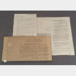 Lincoln, Levi (1782-1868),   Four Articles