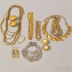 Group of Costume and Designer Jewelry
