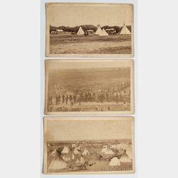 Three Boudoir Cabinet Cards by C.C. Stotz