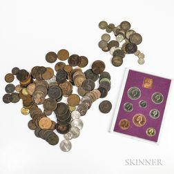 Large Group of 18th-20th Century British Coins