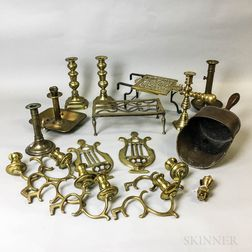 Eleven Brass Items