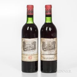 Chateau Lafite Rothschild 1966, 2 bottles