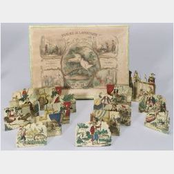 Fables of Fontaine Early Boxed Paper Tableau Set