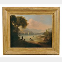 Alvin Fisher (Massachusetts, 1792-1863)      River Landscape