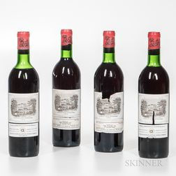 Chateau Lafite Rothschild 1970, 4 bottles