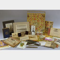 Lot of Miscellaneous 19th and 20th Century Ephemera and Collectibles