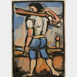 Georges Rouault (French, 1871-1958)      Lot of Two Images: Dors, mon amour