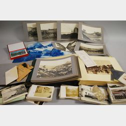 Group of C. 1913 Photograph, Postcards, and Albums of South America