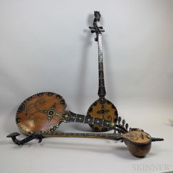 Three Turkish-style String Instruments.     Estimate $20-200