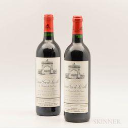 Chateau Leoville Las Cases 1995, 2 bottles