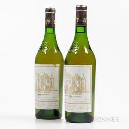 Chateau Haut Brion Blanc 1985, 2 bottles