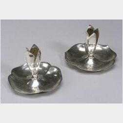 Cellini Craft Sterling Silver Candlesticks